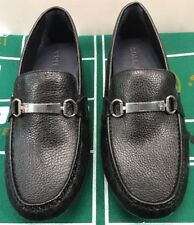 Cole Haan Provincetown Black Pebbled Leather Loafers Driver Men's 9.5 M C26140