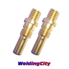 2-pk Gas Diffuser 35-50 for Tweco Mini/#1 & Lincoln Magnum 100L MIG Welding Gun
