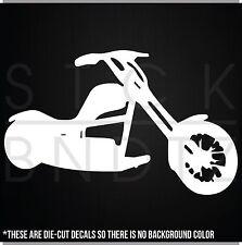 MOTORCYCLE CHOPPER HARLEY FUNNY CUTE DECAL STICKER MACBOOK CAR WINDOW MOTORCYCLE