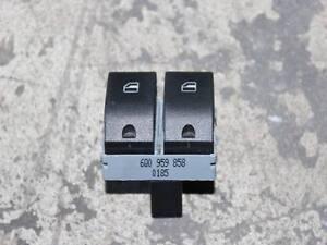 VW Polo 9N / Seat Ibiza 6L Schalter Fensterheber vorne links 2-fach 6Q0959858
