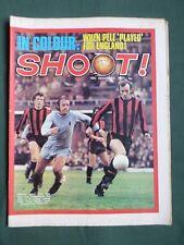 SHOOT  FOOTBALL MAGAZINE 18 DEC 1971  PELE   ERNIE HUNT   DAVID NISH