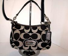 COACH KRISTIN Signature Convertible Shoulder Bag Handbag Satchel #L1257-F22302