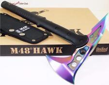 United M48 Rainbow Hawk Tactical Fighting Survival Hatchet/Knife/Axe/Tomahaw k
