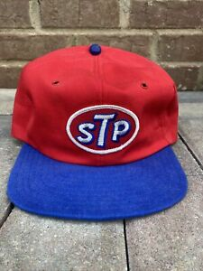 STP Vintage Trucker Hat Patch Gas Oil Snapback NWOT Unworn Rare NASCAR FAN