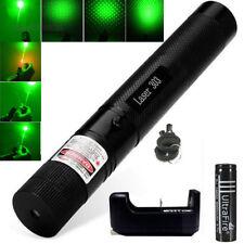 10 Miles Pointeur Laser 532nm Vert 1mW Pen Visible Light + Chargeur + Batterie