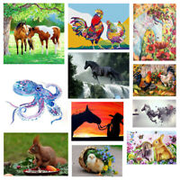Dragon Horse Full Drill DIY 5D Diamond Embroidery Painting Cross Stitch Mural