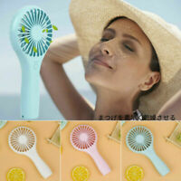 Electric Handheld Fan Air Conditioner USB Rechargeable Cooling Portable Coolers