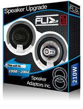 Ford Focus Puerta Trasera altavoces fli altavoces del coche + Adaptador de parlante vainas 210W