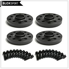 Set of 4 12mm Hubcentric Wheel Spacer 5x100 5x112 fit Audi Volkswagen Skoda Seat