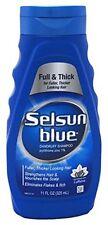 2 Pack Selsun Blue Full & Thick Dandruff Shampoo 11 Fl Oz / 325 mL Each