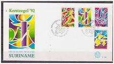 Surinam / Suriname 1992 FDC 160 Kerstmis christmas Weihnachten noel