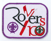 100 YEARS OF ROVERS SCOUT CENTENARY- BANGLADESH ROVER SCOUTS 2018 OFFICIAL PATCH