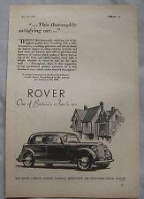 1949 Rover Seventy-Five Original advert No.4