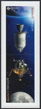 APOLLO 11 MOON LANDING = 50th = Tête-Bêche Pair from Booklet Canada 2019 MNH