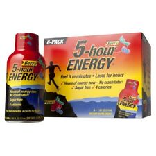 5-Hour Energy 6 Pack Berry Flavor (6 - 1.93floz Bottles)