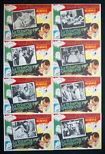ROMAN HOLIDAY AUDREY HEPBURN GREGORY PECK LOBBY CARD SET NEVER USED 1953 VINTAGE