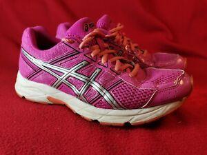 Womens Asics Gel Contend 4 Pink Orange Running Shoes UK Size 5