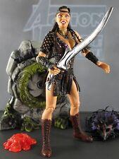 VELASCA Toy Biz AMAZON WARRIOR Xena Barbarian Princess Hercules Action Figure