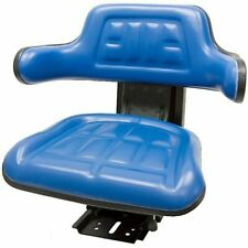 Blue Tractor Suspension Seat Fits Ford New Holland 3300 3910 3930 6000 7610