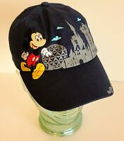 Disney Parks 2019 Park Icons Mickey Pluto Embroidered Adjustable YOUTH Hat