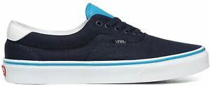 Vans Era 59 C&L Blue White Mens Skate Trainers Shoes