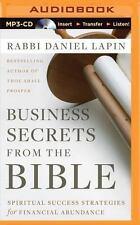 Business Secrets from the Bible: Spiritual Success Strategies for Financial Abun