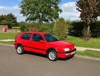 VW Golf GTI Immaculate. The best Mk3 GTI available