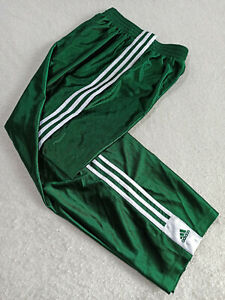 ADIDAS TRACK SNAP PANTS SHINEGREEN Trouser SIZE S