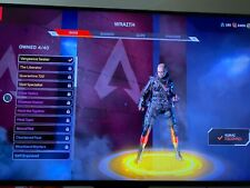 Apex Legends Account Lvl27  Legendary Wraith Skin+Extremely Rare Kunai Knife