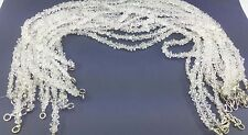 Clean Herkimer Diamond Quartz drilled beading necklaces string 3.5-4mm 10Pcs lot