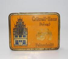 alte Blechdose, Crünwell Haus Privat Tabak Feinschnitt Bielefeld  #F503