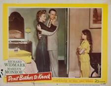 (4) Original MARILYN MONROE Lobby Cards from various films