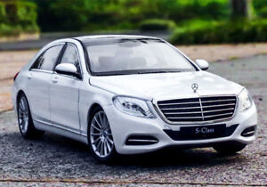 WELLY 1:24 Scale Static Alloy Car Model Boys Toys For Mercedes Benz S-CLASS S500