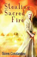 Stealing Sacred Fire by Storm Constantine (English) Paperback Book Free Shipping