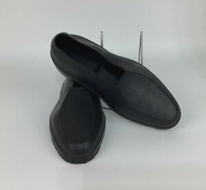 TOTES Geometric Loafers Black Men's M 8.5 To 9.5 Rubber Waterproof Shoe Covers