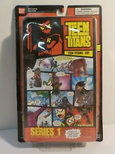 N Bandai Teen Titans Go 1.5in Action Figures Comic Book Hero Series 1 Page 3 Toy