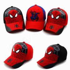 New Spiderman Kids Cotton Baseball Cap Embroidery Boy Girl Hip Hop Hat Snapback