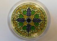 2014 $20 Fine Silver Coin-Stained Glass 1oz silver coin