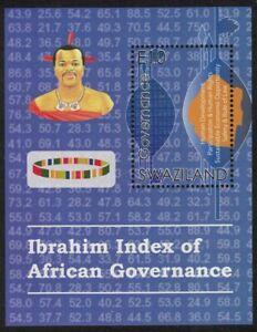 Swaziland Ibrahim Index MS 2017 MNH