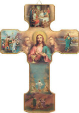 SML MYSTERIES OF LIGHT WOODEN CROSS - STATUES CANDLES PICTURES CRUCIFIXES LISTED
