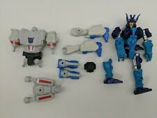 Lot of 3 Transformers -Hero Mashers Megatron Star Scream Drift Parts & Pieces