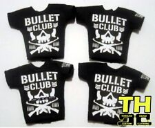 WWE Mattel Elite 4 Custom Bullet Club Shirt Wrestling Figure NJPW ROH