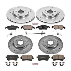 Power Stop K6134 Z23 EvolutionSport Brake Kit For 11 Audi A4 Quattro 2.0L NEW