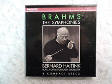 Brahms: The Symphonies, Bernard Haitink - 4 CD Box Set - Philips Classics