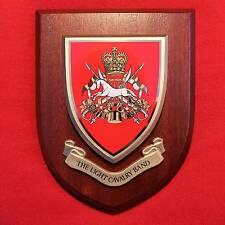 Light Cavalry Band CAMUS - British Army Plaque Shield - Royal Armoured Corps