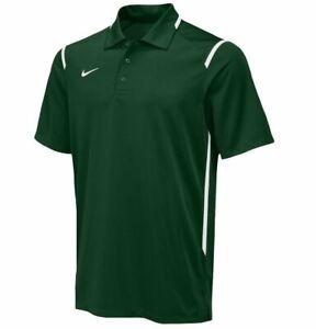 Nike Dry Men's Green Gameday Dri-Fit Short Sleeve Polo Shirt