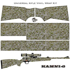 ES Camo KAMNI Wrap Skin for Rifle 6 patterns Protection and Camouflage for Gun