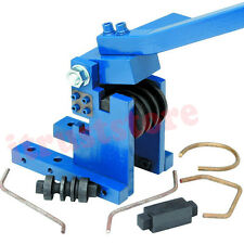 CUSTOM METAL TUBE ROD BENDER BENDING FORMER FORM ROLL ROLLER FLAT ROUND STOCK