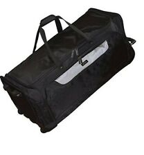 "Kenneth Cole Reaction Black 36"" Rolling Duffel Bag Same Duff-erence 134707"