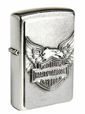 ☆ zippo ® Briquet Harley Davidson Emblème Iron Eagle ☆